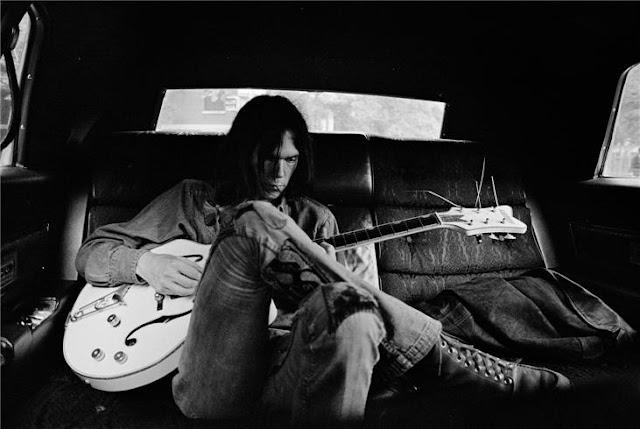 Neil Young por Joel Bernstein - 1970