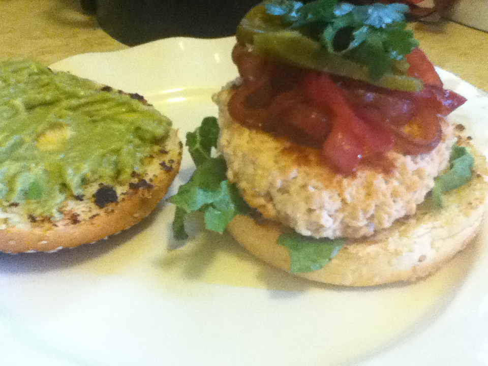 Martha Stewart Living Turkey Burgers With Red Onion And Jalapenos Foodie In Wv