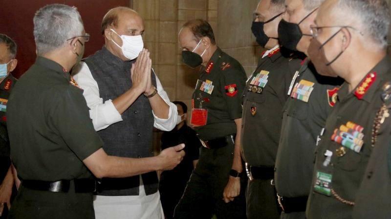 रक्षा मंत्री राजनाथ सिंह बोले- चीनी चाल से रहें सावधान