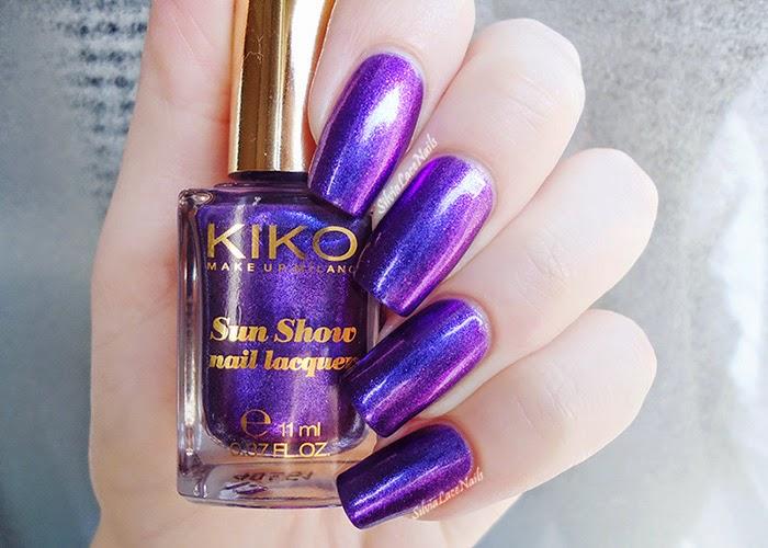 Kiko Sun Show 473 Precious Amethyst: swatches