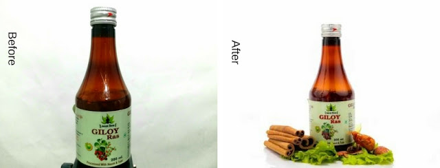 Product photography, before and after images, why product photography is important