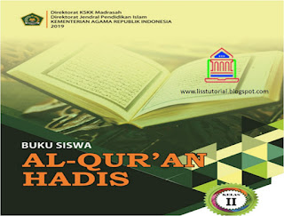 buku al-qur'an hadis kelas 2 mi