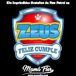 Logo de Paw Patrol: ZEUS
