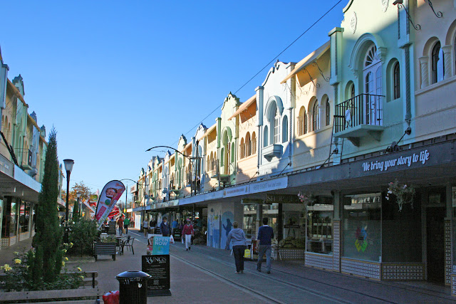 New Regent Street, Christchurch, New Zealand