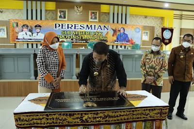 Gubernur Arinal Resmikan SLB Negeri PKK Provinsi Lampung
