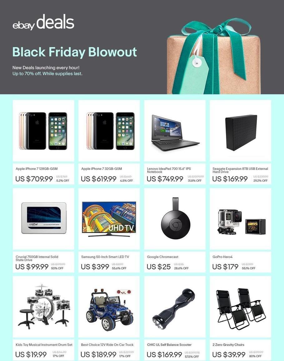 Ebay Black Friday Deals 2016