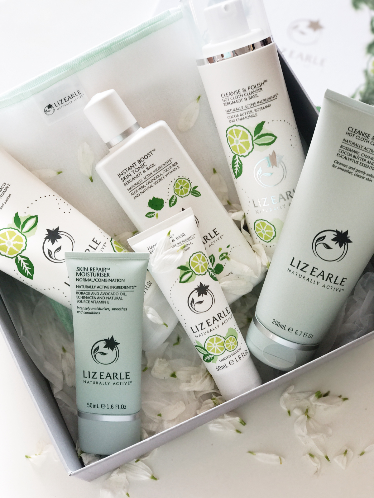Limited Edition Liz Earle Bergamot & Basil Collection
