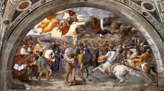 La cacciata di Attila raccontata da Raffaello