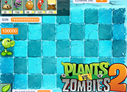 Plants vs Zombies 2 Frostbite Caves Unlimited