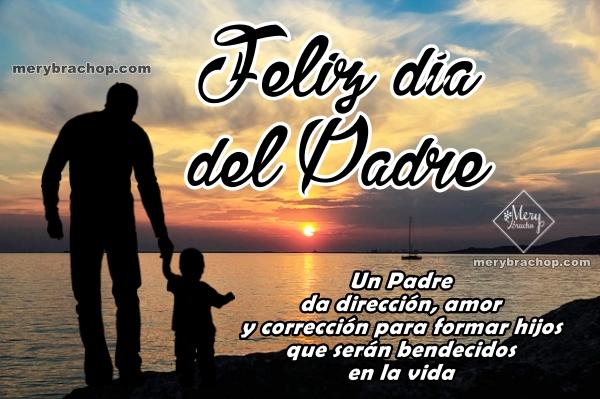 Bonitas frases cristianas para el día del padre, mensajes cristianos cortos para papá, imágenes