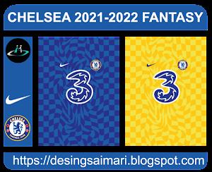 Camiseta Jersey Chelsea 2021-22 (pattern vector)