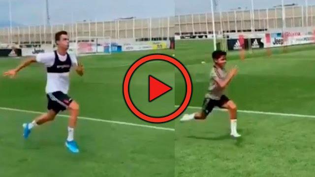 Comme Messi, Cristiano Ronaldo récupère avec son fils