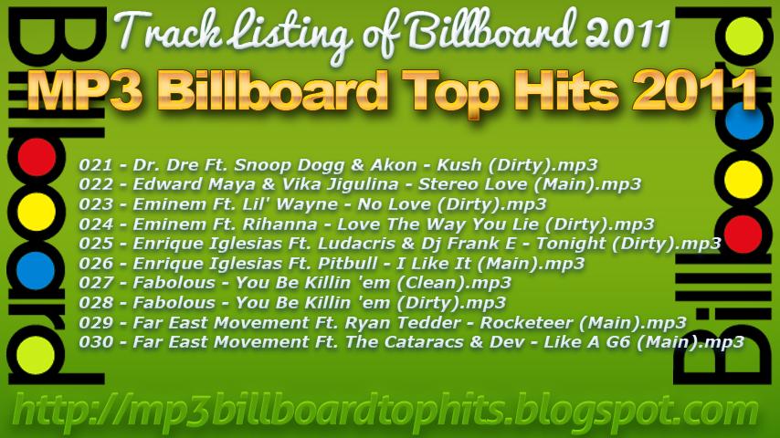 MP3 Billboard Top Hits 2011-2012   mp3 Billboard Top Hits