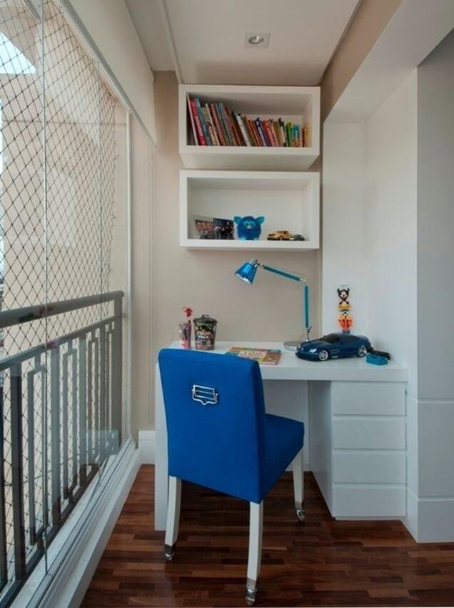Home Office na varanda