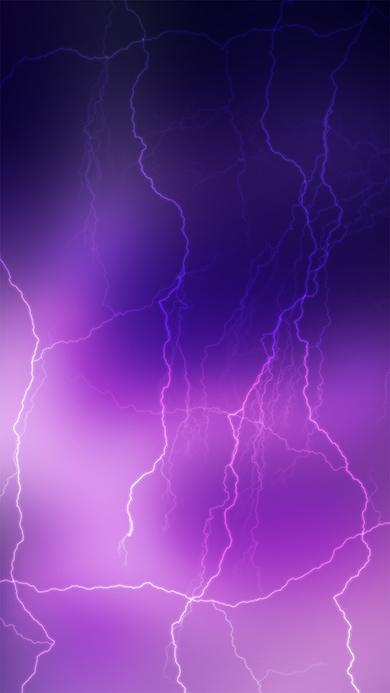 Lightning Wallpaper Iphone 7 Blackberry Themes