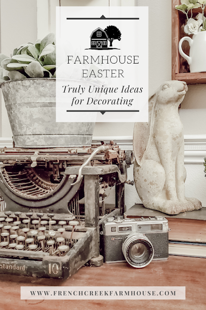 Farmhouse Easter Decorating Ideas  | French Creek Farmhouse