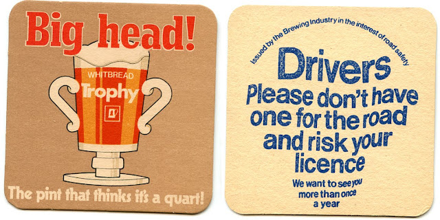 Beer mat - Whitbread Trophy 1970s