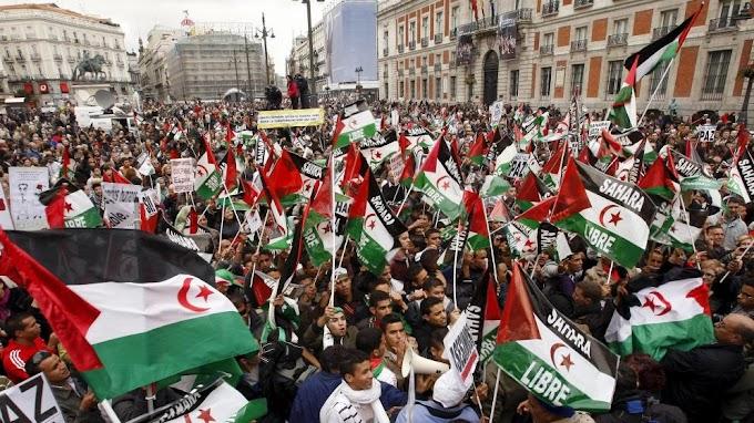 Unidas Podemos participará hoy en la 'Marcha por la Libertad del Pueblo Saharaui' a su llegada a Madrid.