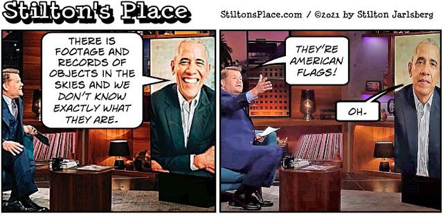 stilton's place, stilton, political, humor, conservative, cartoons, jokes, hope n' change, ufo, uap, obama