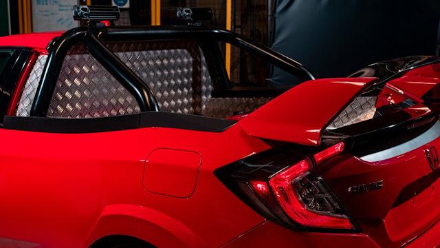 Honda Civic Type-R: picape esportiva será comercializada?