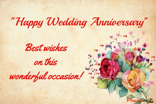 Best Wedding Anniversary Message, Free Image, Photos, Status