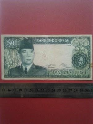 500 rupiah tahun 1960
