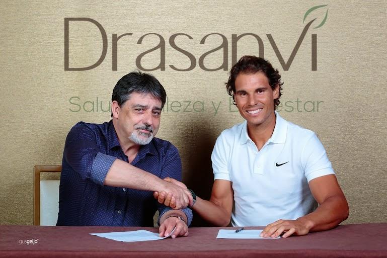 Rafa Nadal, nuevo embajador de Dransavi