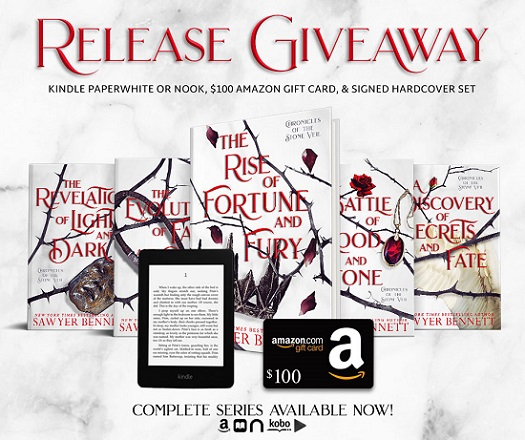 Release Giveaway. Complete series available now!