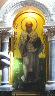 "M.Vrubel. ""Saint Athanasius"", Church of St. Cyril, Kiev"