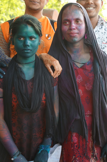 Festival Holi di Jaipur, India