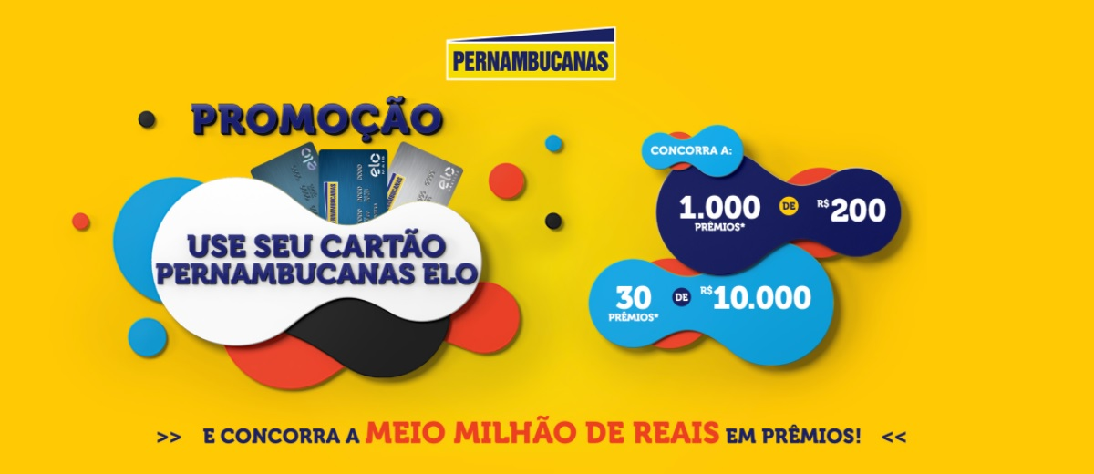 Participar Promoção Cartão Elo Pernambucanas 2020 Use Cartões Elo Concorra Meio Milhão em Prêmios