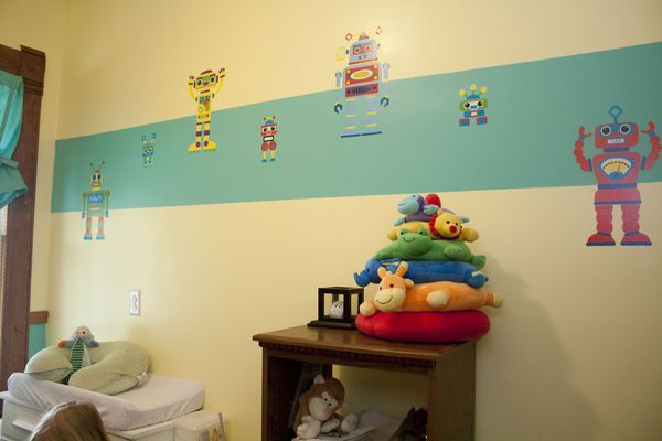 DIY Foam Wall Decorations - Life with Moore Babies