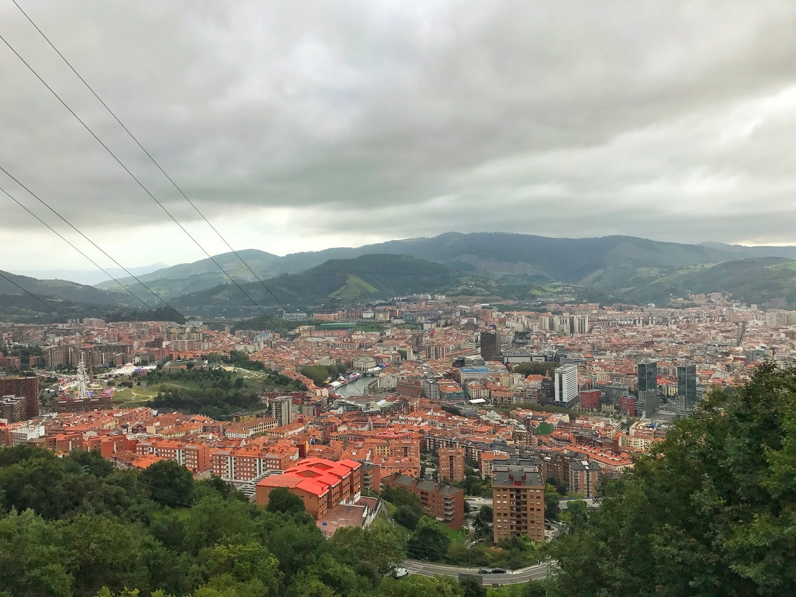 Funicular de Artxanda Bilbao Spain