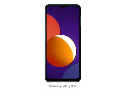 Samsung Galaxy M12 - Baterai 6000 mAh