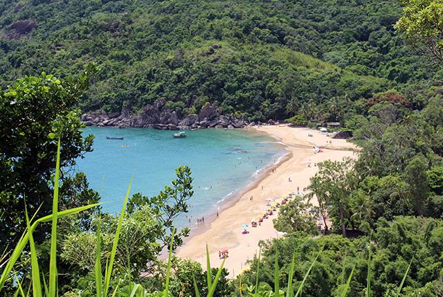 Praia Jabaquara Ilhabela