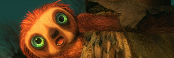 Sloth The Croods 2013 animatedfilmreviews.filminspector.com