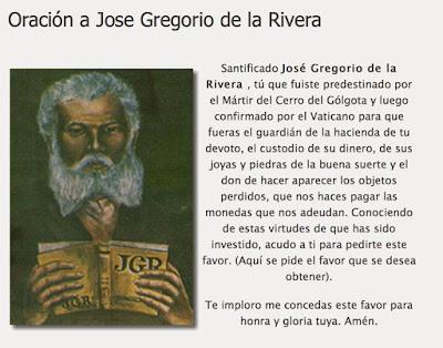 Ánimas Venezolanas, Animas Milagrosas GregoriodelaRivera