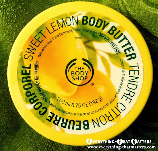 The Body Shop Sweet Lemon Body Butter: Swatches And Review