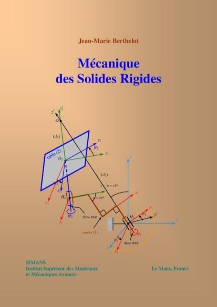 Livre Mécanique des Solides Rigides PDF