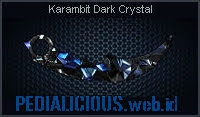Karambit Dark Crystal
