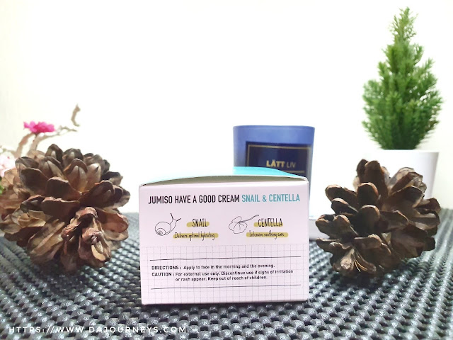 Review Jumiso Have a Good Cream with Snail and Centella