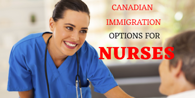 How to immigrate and become a registered nurse in Canada.