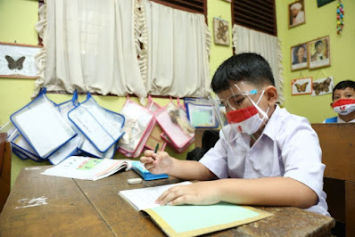 10 Kabupaten/Kota di Riau Sudah Laksanakan Sekolah Tatap Muka