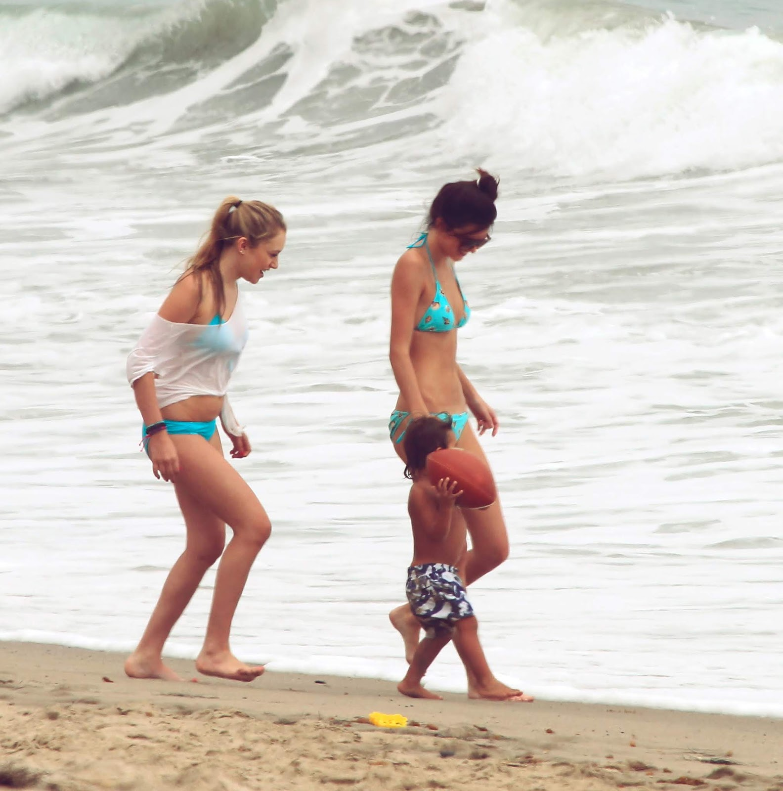 31 - At a Beach with friends in Malibu California on July 14, 2012