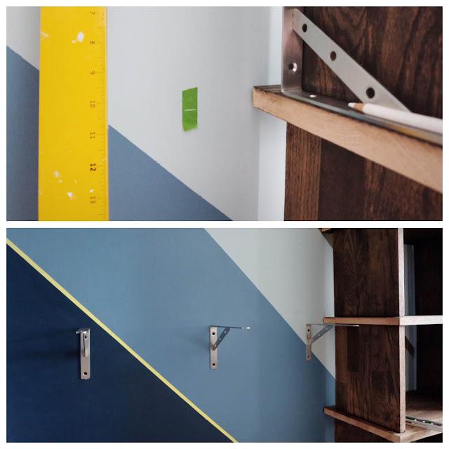 shelf bracket heavy duty diy floating wall mount cabinet