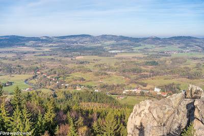 Dolina Bobru z Sokolika, spojrzenie w kierunku zachodnim