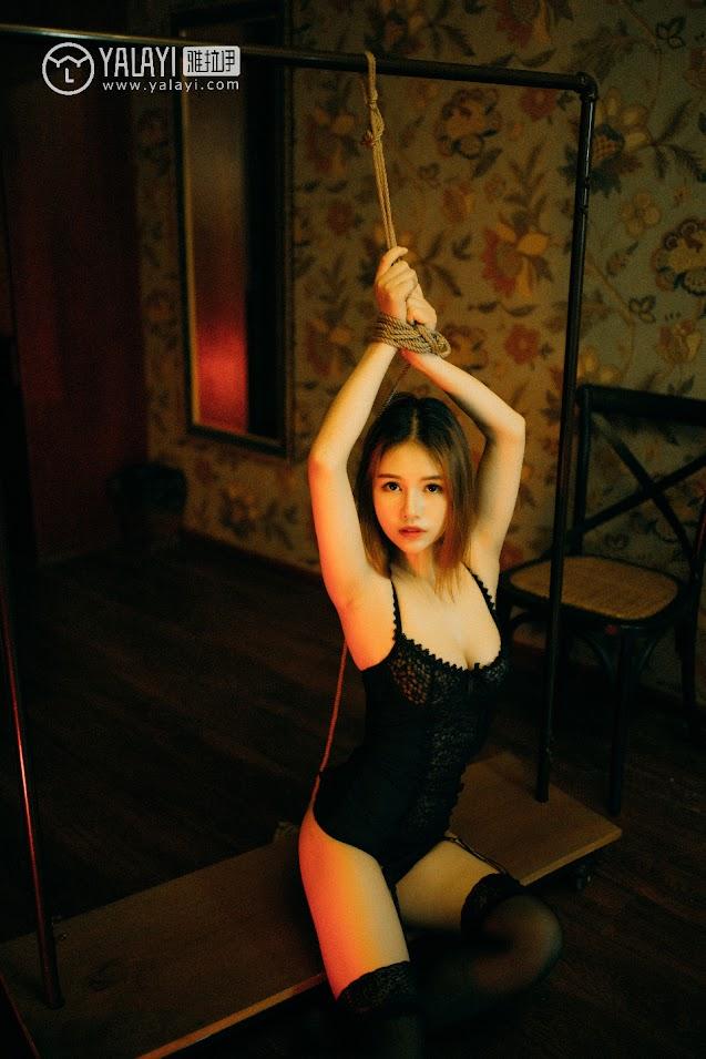 YALAYI雅拉伊  2018.08.20 NO.052 被遗忘的房间 李颖惠惠 - idols