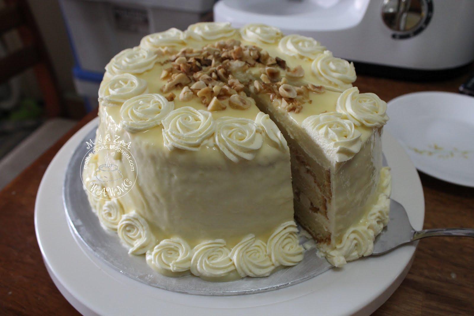 The Scarlet Apron White Chocolate Hazelnut Cake