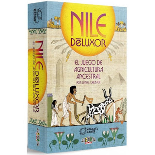 Nile Deluxor (unboxing) El club del dado Nile-deluxor