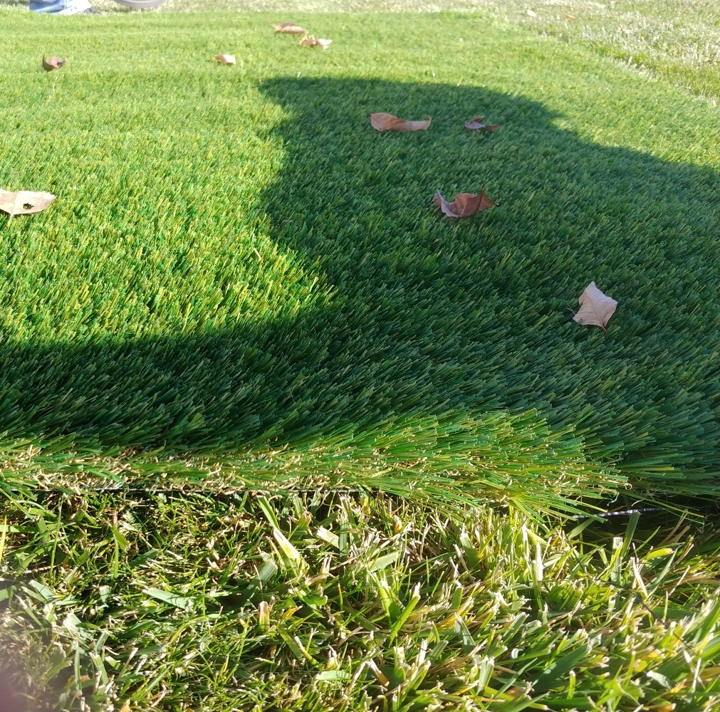 artificial grass edge